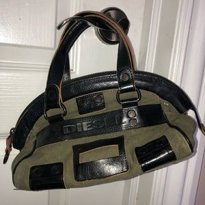 Handbags - Diesel green shoulder bag